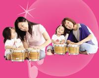 亲子音乐涂鸦国(2-3岁)